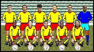 la team SQUEEZIE